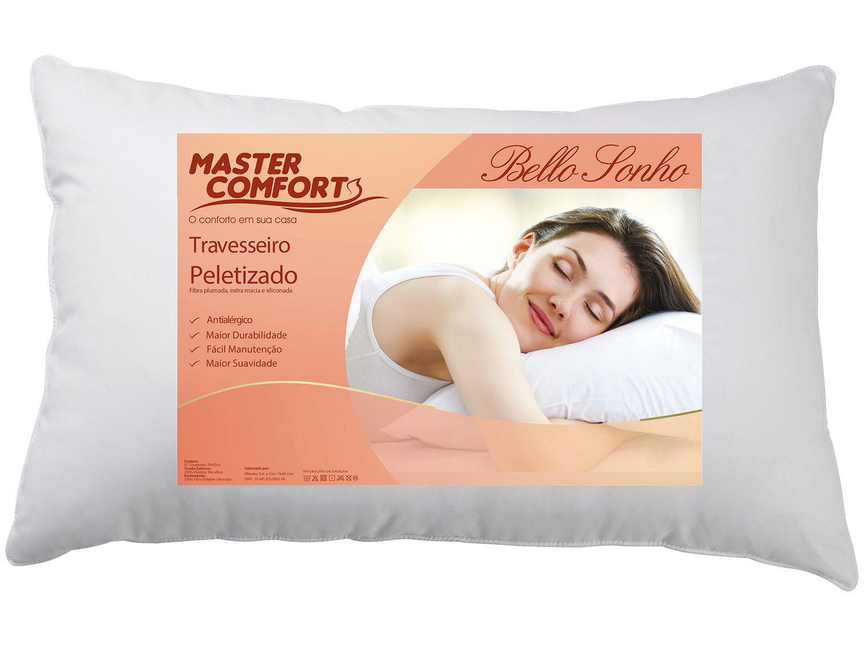 Travesseiro de Fibra Peletizado - Master Comfort