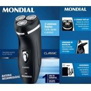 Barbeador Elétrico Classic - Bivolt Nbe-01 - Mondial