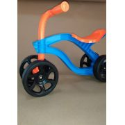 Bicicleta Quadriciclo Bebê Azul/Laranja  Equilíbrio 18 M+ Menino/Menina 18 kg