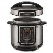 Panela de Pressão Elétrica Digital Mondial - Master Cooker  900W 5L Timer 110v