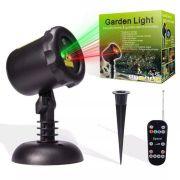 Projetor Laser a prova de água - Iluminação de Natal, Controle Remoto