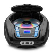 Rádio Boombox Sp338 Bluetooth Toca Cd Multilaser Mp3 Player