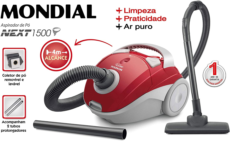 Aspirador de Pó Mondial Next 1500 220v