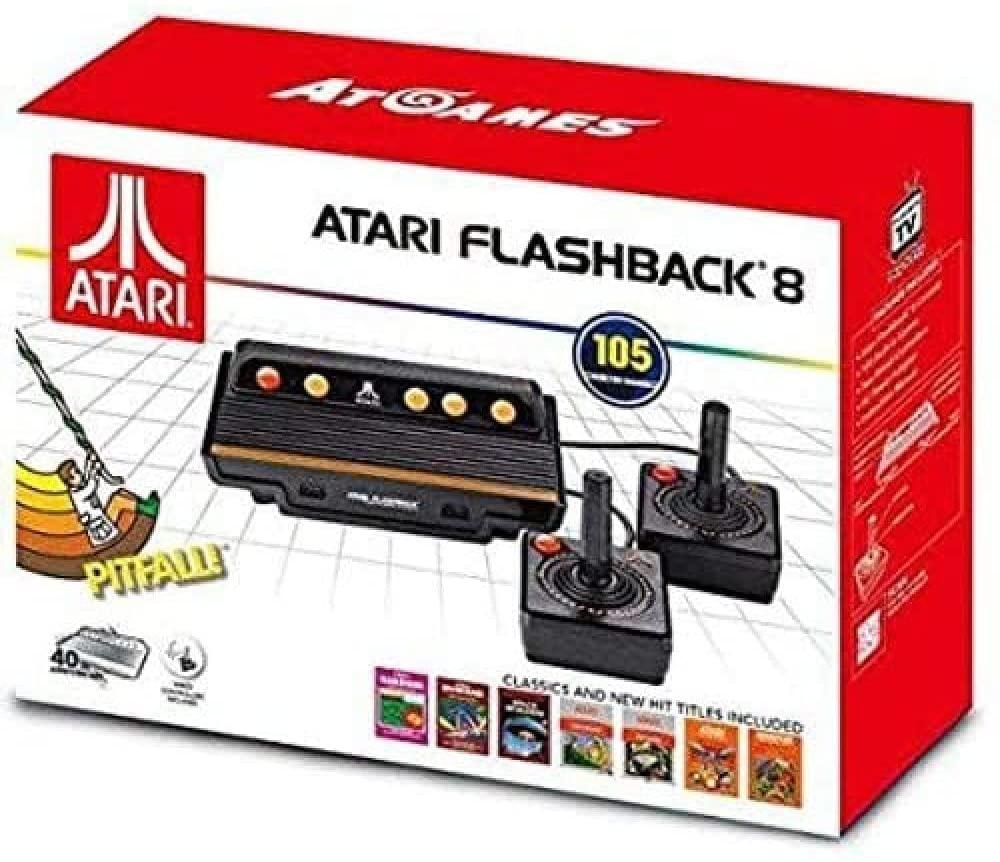 Atari Flashback 8 Classic Game com 105 Jogos AR3220 Retrô Envio Imediato