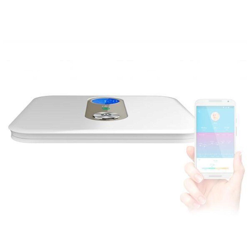 Balança Motorola Digital Smart Bioimpedância 150 kg Bluethoot Android/IOS