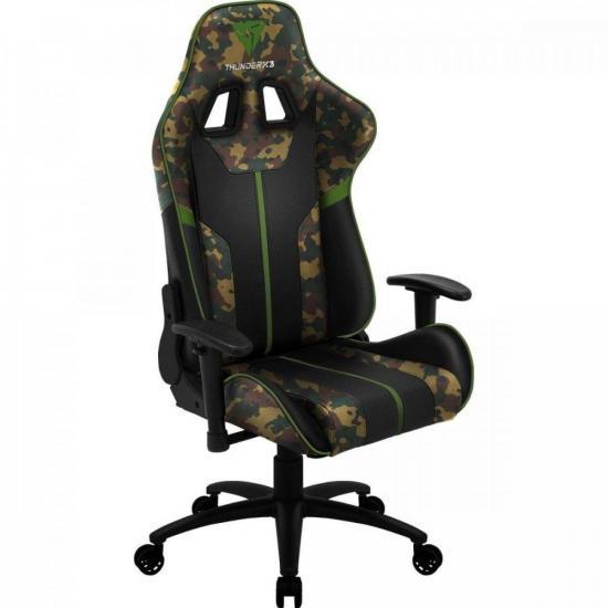 Cadeira Gamer BC3 CAMO/VD Military THUNDERX3