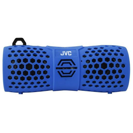 Caixa De Som Jvc Xs-N1249RBU- Bluetooth/Resistente água - Azul