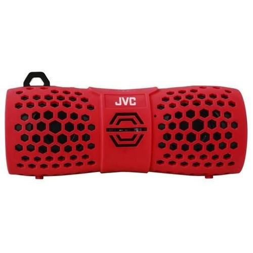 Caixa De Som Jvc Xs-N1249RBU- Bluetooth/Resistente água - Vermelha