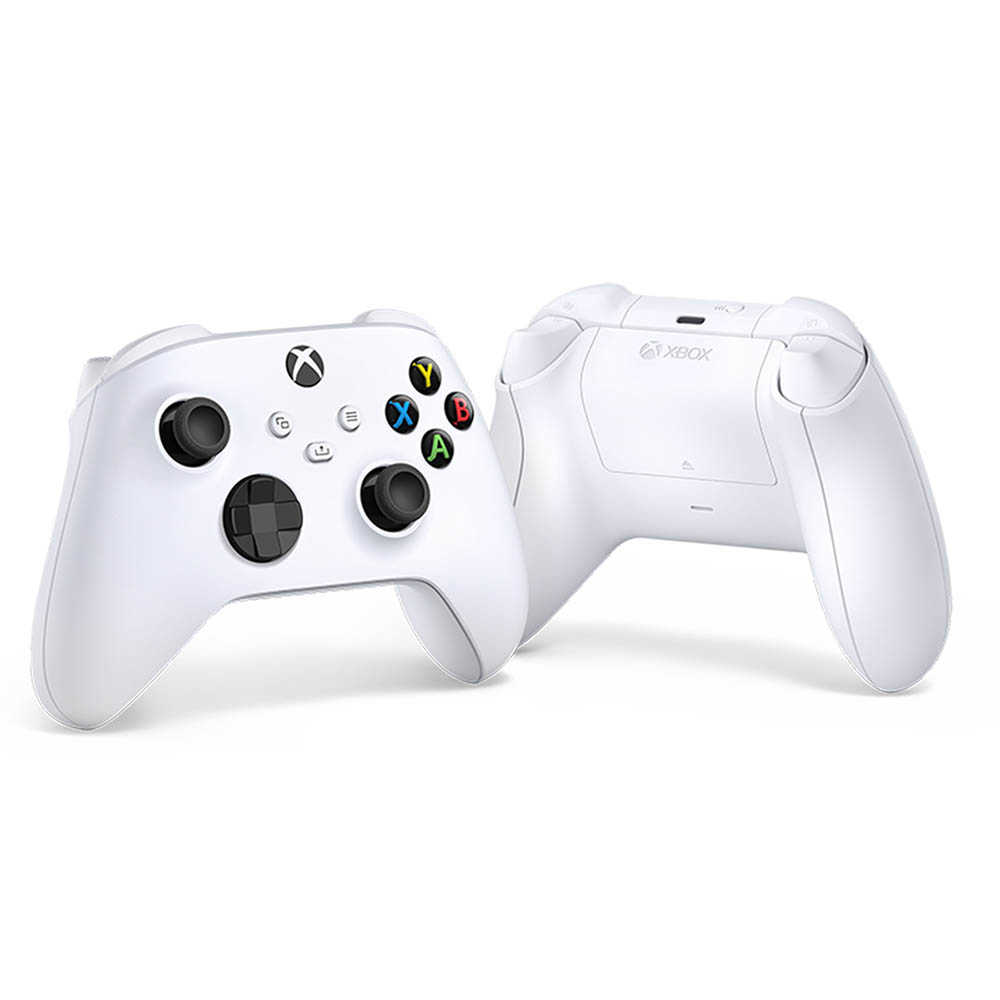 Controle para Xbox Series X Xbox Series S - Xbox One X sem Fio Robot White Branco