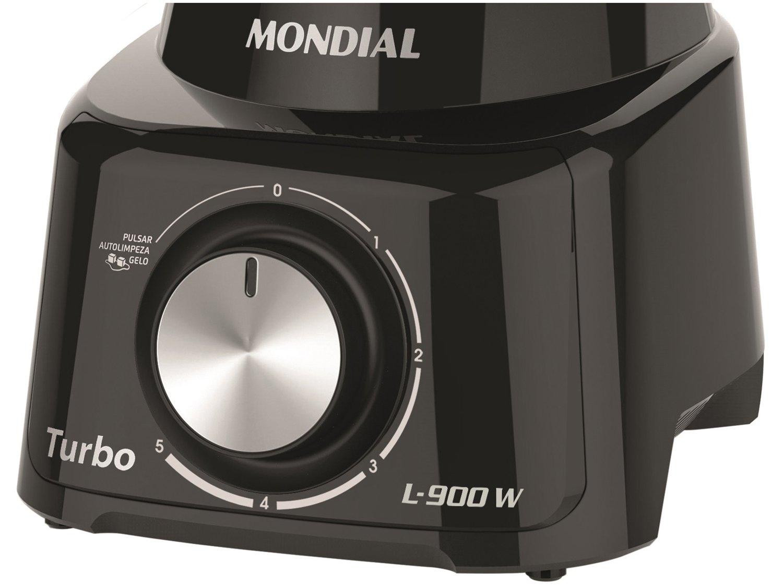 Liquidificador Turbo L-900w Mondial Copo 2,7 Litros 220v