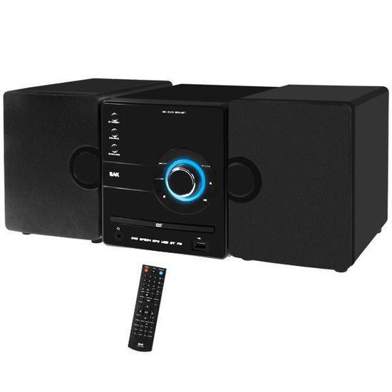 Micro System BAK BK-DVD Bluetooth Home Theater Usb Hiper Oferta