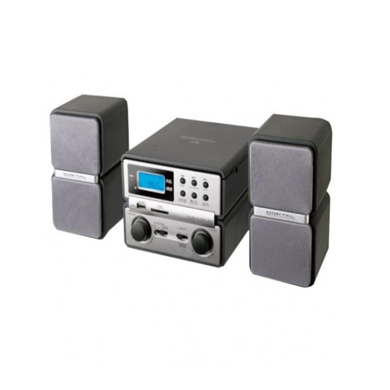 MICRO SYSTEM MEGASTAR Rádio Am/Fm CD USB  BIVOLT - Barato Oferta