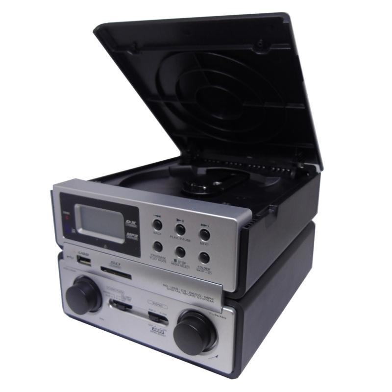 MICRO SYSTEM MEGASTAR Z113 - CD USB - RADIO - BIVOLT - Oferta