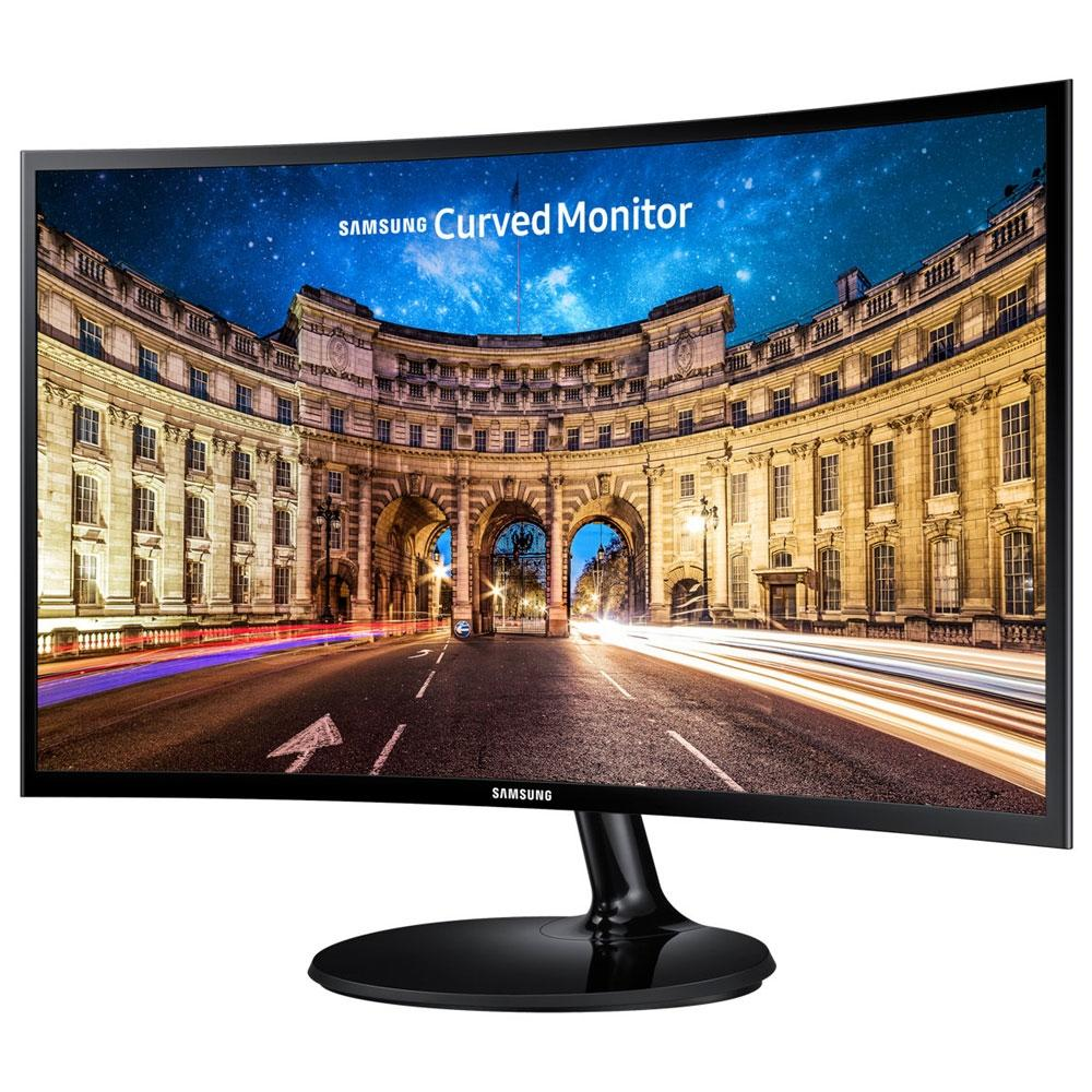 Monitor  PC Gamer Full HD Samsung LED Curvo 24 - C24F390F