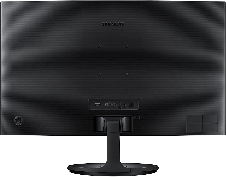 Monitor  PC Gamer Full HD Samsung LED Curvo 24 - C24F390F Hiper Oferta