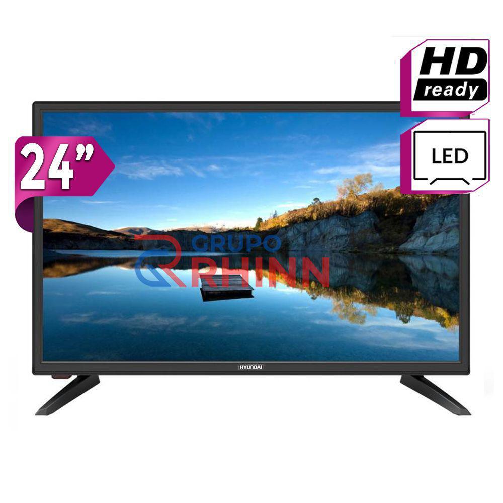 "Monitor TV Led HDMI USB 24"" Hyundai Super Oferta"