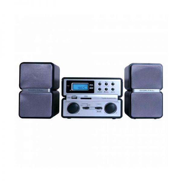Rádio Am/Fm Barato MICRO SYSTEM MEGASTAR CD USB  BIVOLT Oferta