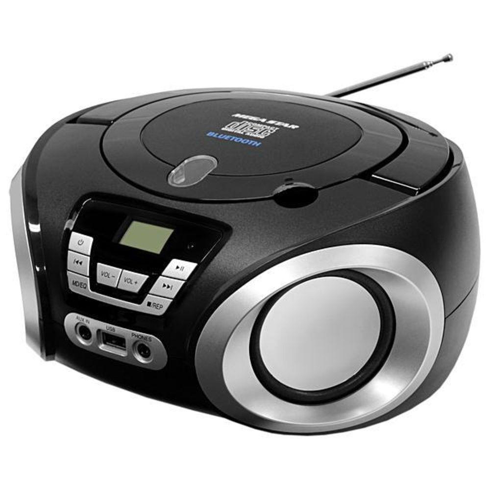 Rádio Fm Cd Usb Bivolt MEGASTAR Z113 Promoção