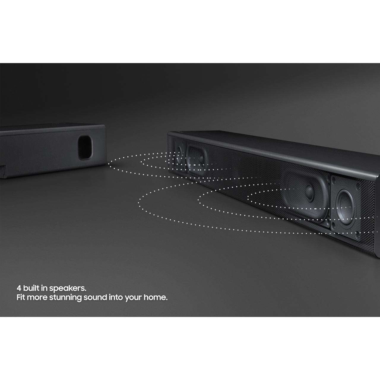Sound Bar Home Theater SAMSUNG HW-N300 15 Watts Rms 2.0 Canais Usb/bluetooth