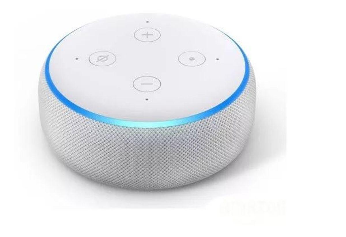 Speaker Echo Dot 3º Geração Branca