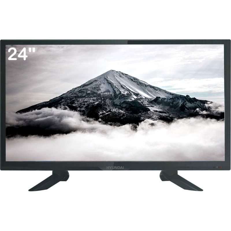 """TV Led Digital Hdmi Usb 24"""" Hyundai"""