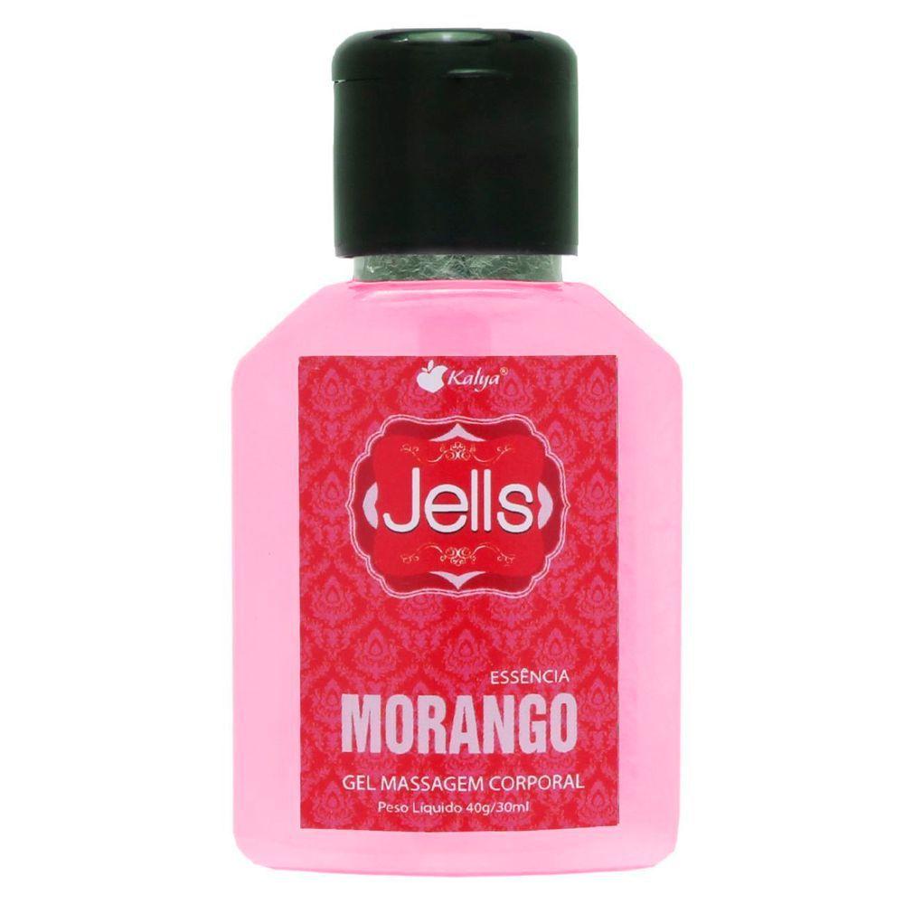 Gel Comestível Jells - Morango - KALYA