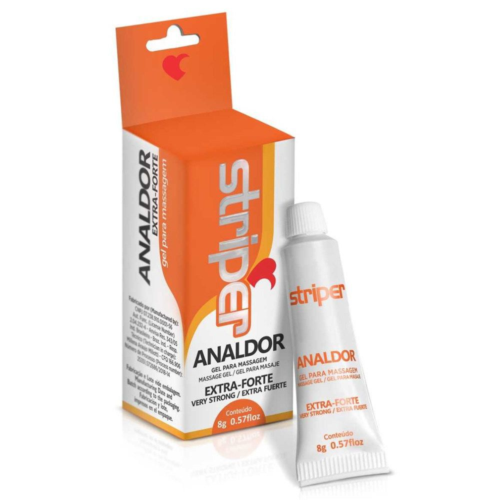Gel facilitador sexual Analdor - STRIPER