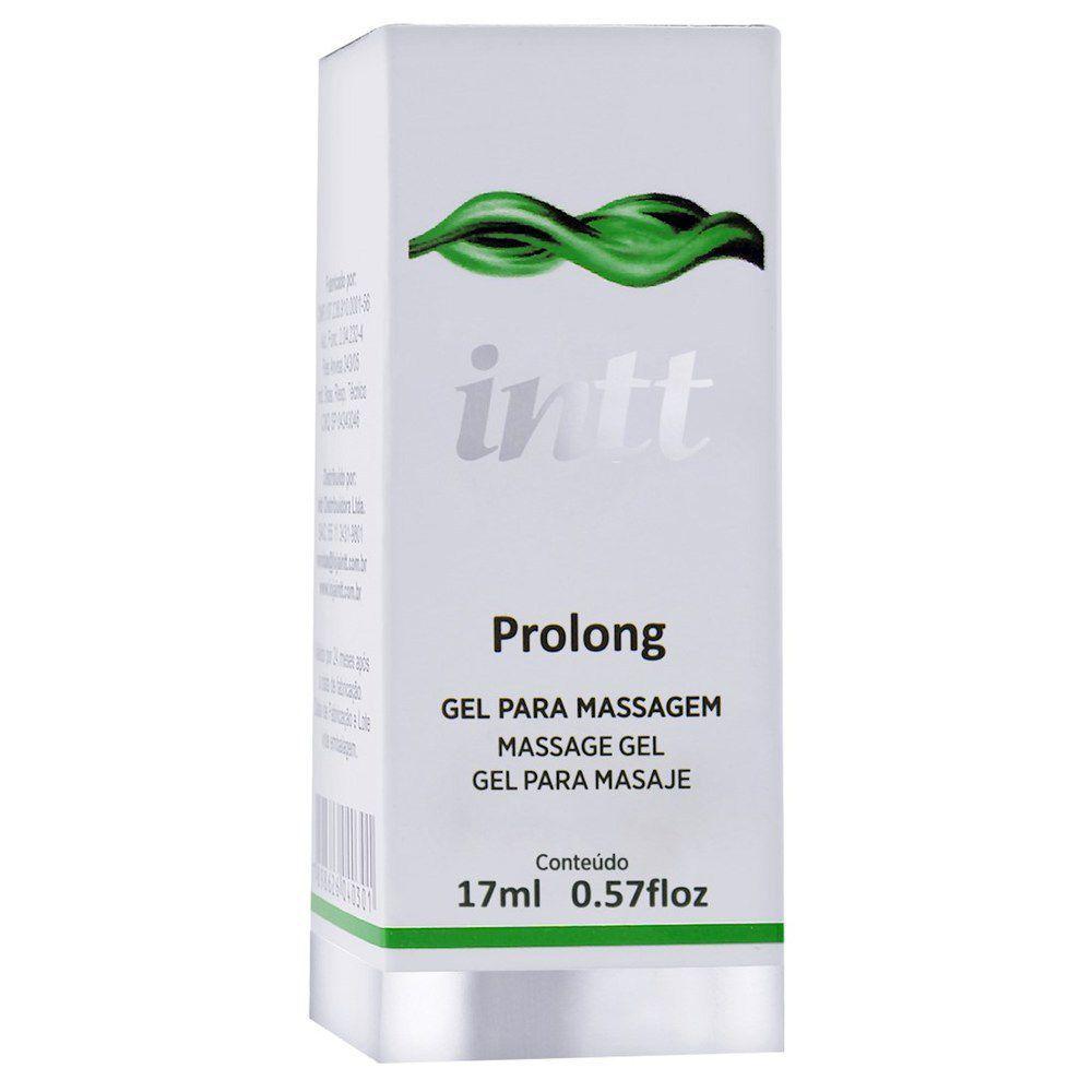 Gel Prolongador de ereção e retardador de ejaculação - Prolong  - INTT