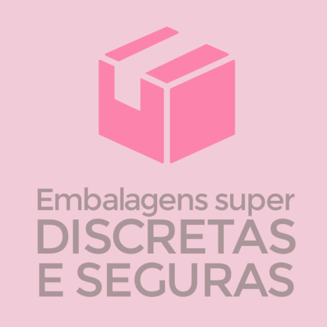 """Gel Siliconado p/ Masturbação  """"TOQUE DE VELUDO"""" - GAROTA VENENO"""