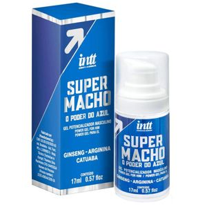 Gel Super Macho O Poder Do Azul Potencializador - INTT