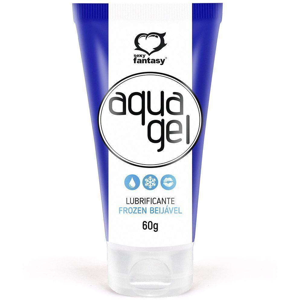 Lubrificante Beijável Aqua Gel - ICE - SEXY FANTASY