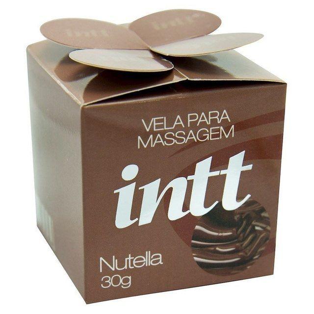 Vela Beijável 30g - Nutella - INTT