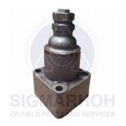 Válvula de alivio de pressão para motor EMD
