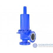 Válvula de segurança para atender à Norma API 526 / Safety valve meets API 526