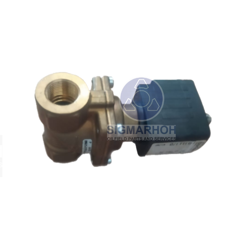 2/2-way-solenoid valve; servo assisted