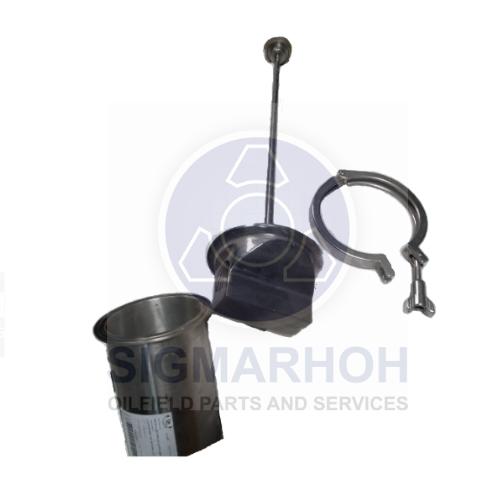 Carcaça INOX para filtro hidráulico