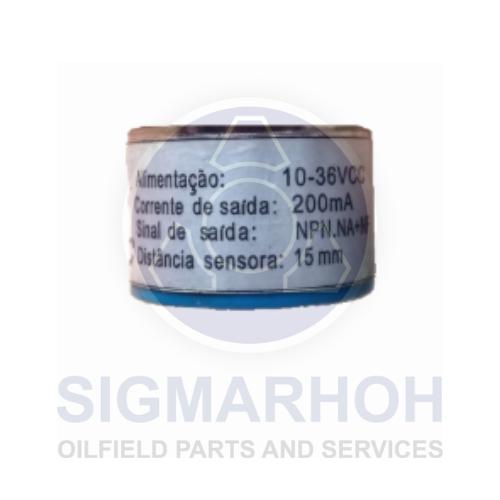 Cilindrical capacitive sensor - C30-15-DNC