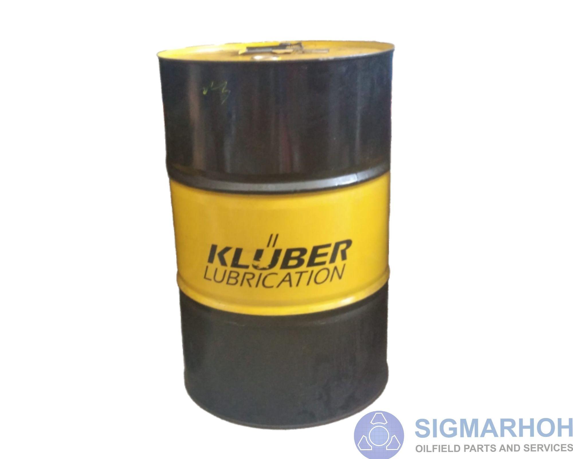 Lubrificante Klüber Summit PGI 68 e 100 / Klüber Summit PGI 68 and 100 Lubricante