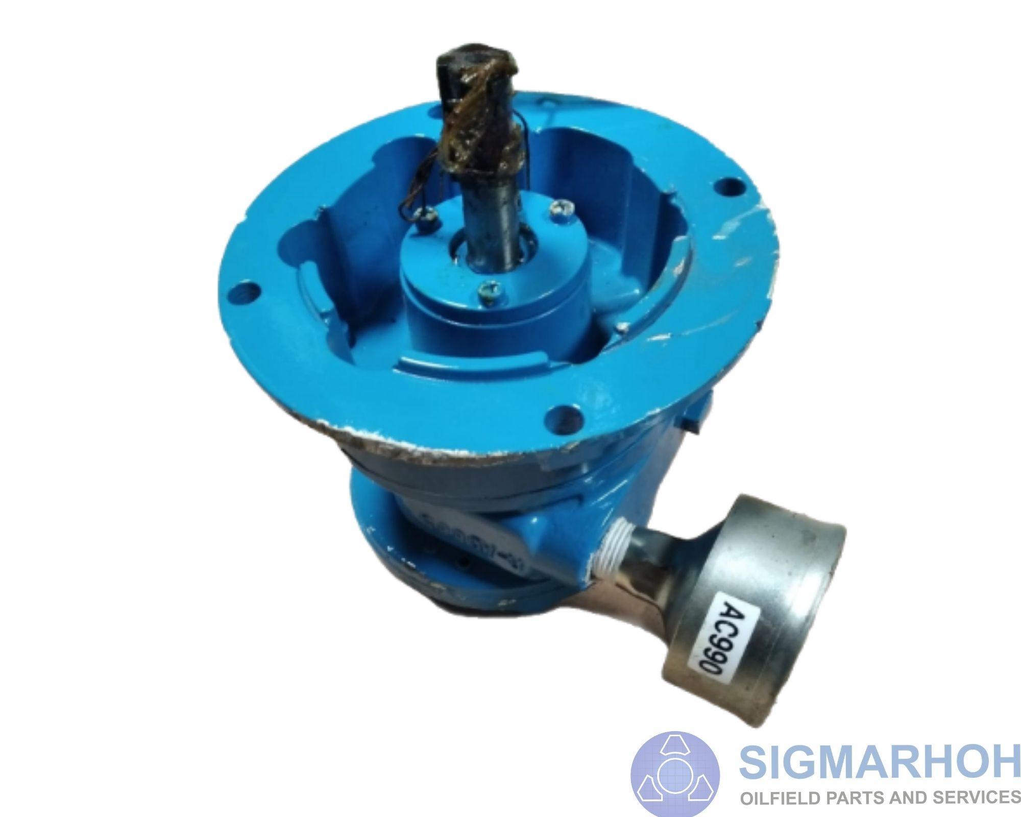 Motor de Agitador de Fluidos / Fluids Agitator Motor