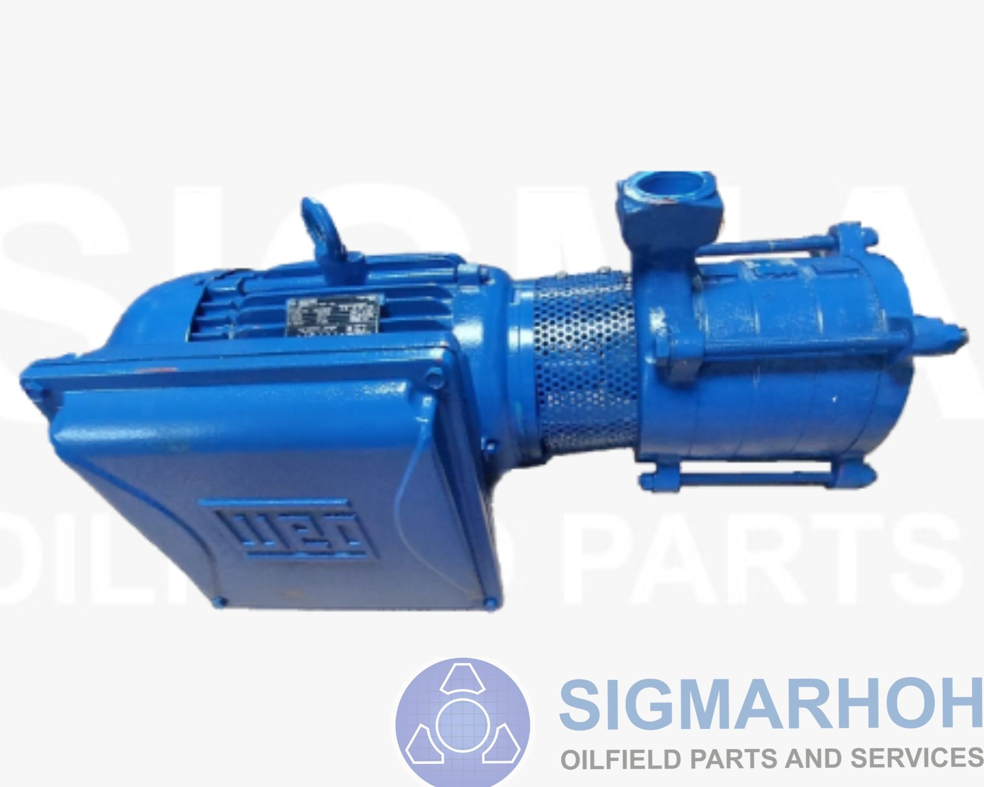 Motor Bomba Elétrica Centrífuga Múltiplo Estágio / Multi Stage Eletric Centrifugal  Motor Pump