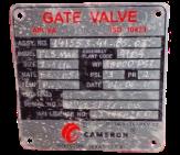 "Válvula gaveta Flangeada 3 1/16"" / Gate Valve With Flange 3 1/16"""