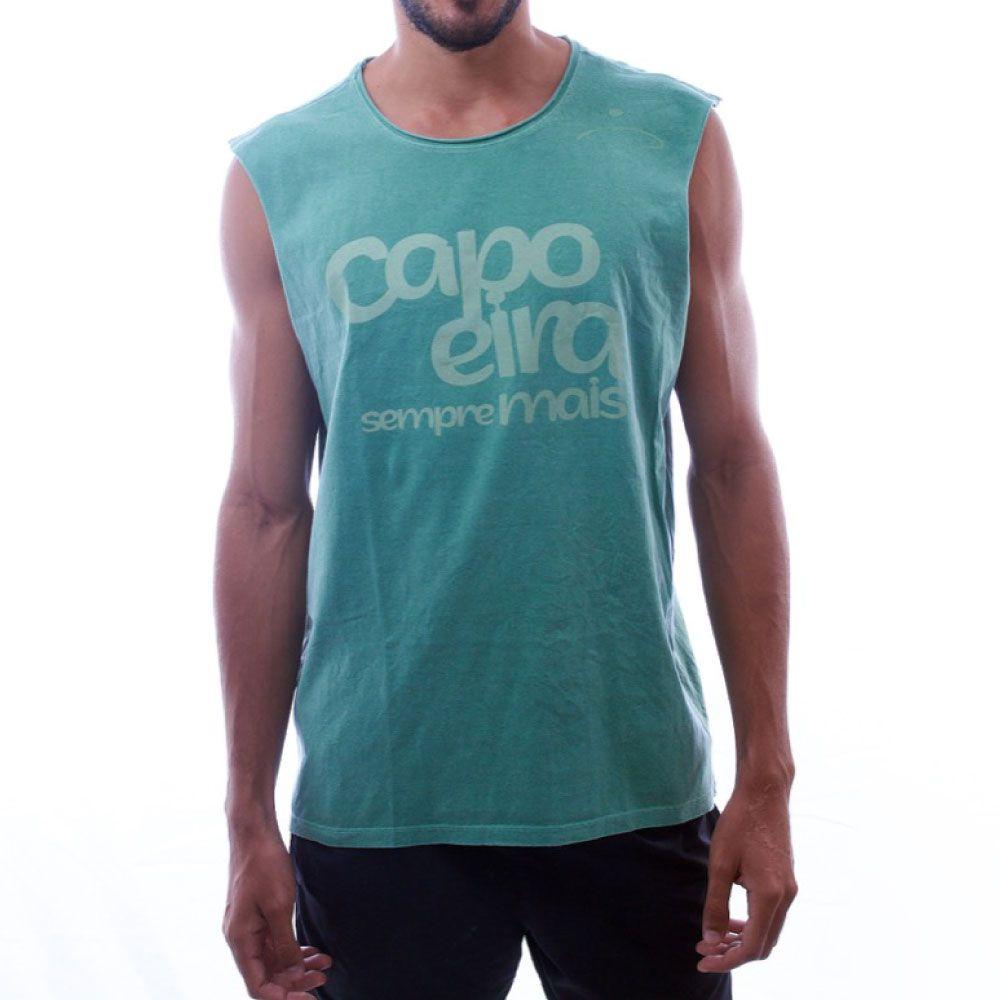 Regata Cortada Capoeira Sempre Mais Masculina