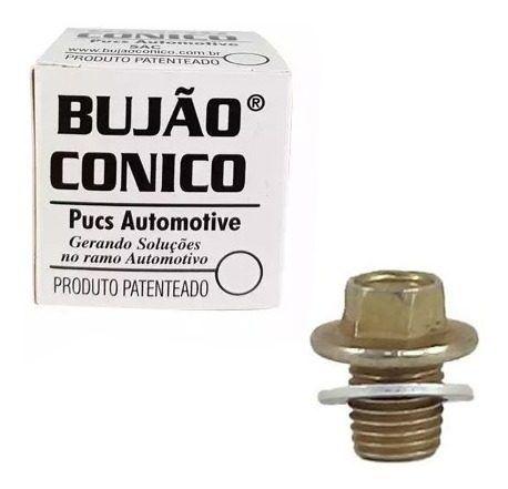 Kit 10 Bujao Carter Conico Carter Espanado 12mm Para Motos