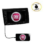 Central Multimídia Fiat Bravo Tv Dvd Bluetooth Câmera De Ré