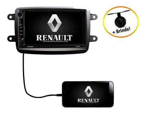 Central Multimídia Dvd Renault Captur 2017 2018 2019 Tv Usb