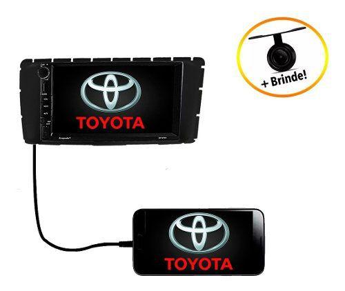 Central Multimídia Dvd Toyota Hilux 2012 2013 2014 2015 Gps Espelhamento Android Ios Bluetooth