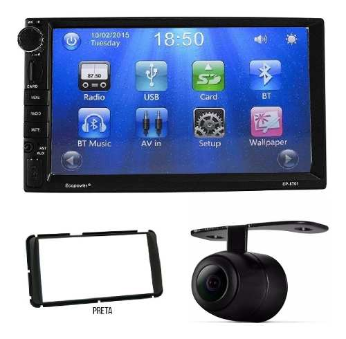 Central Multimídia Dvd Toyota Etios Dvd Tv Bluetooth Câmera