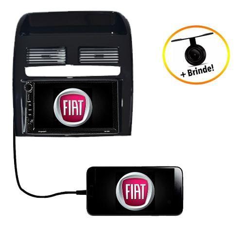 Central Multimídia Dvd Fiat Linea 2008 2009 2010 2011 2012 Gps Espelhamento Android Ios Bluetooth