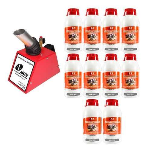 Kit Nebulizador P/ar Condicionado + 10 Frascos Higienizador