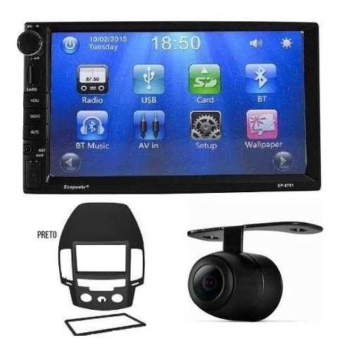 Central Multimidia Hyundai I30 Com Bluetooth E Câmera De Ré